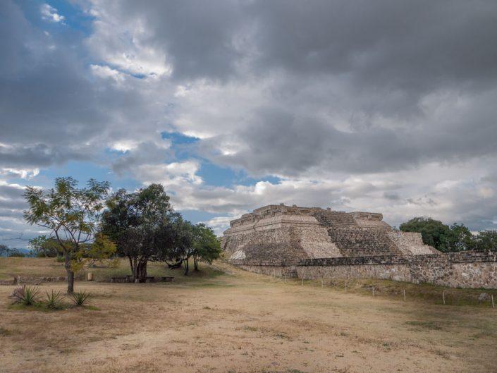 Monte Alban archeological site, Oaxaca