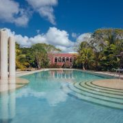 The incredible pool, Hacienda Temozon, Yucatan