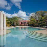 The incredible pool, Hacienda Temozon, Yucatan