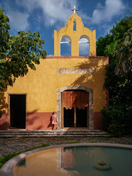 La Capilla, Hacienda San Jose Cholul, Yucatan, Mexico