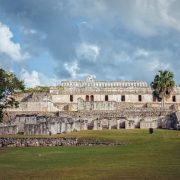 The Palace complex, Kabah, Yucatan, Mexico