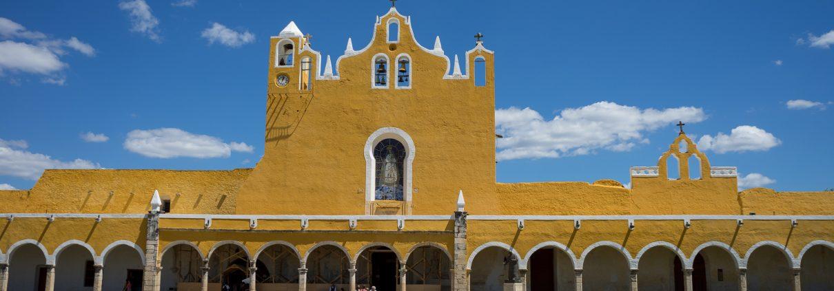Facade of San Antonio De Padua, Izamal