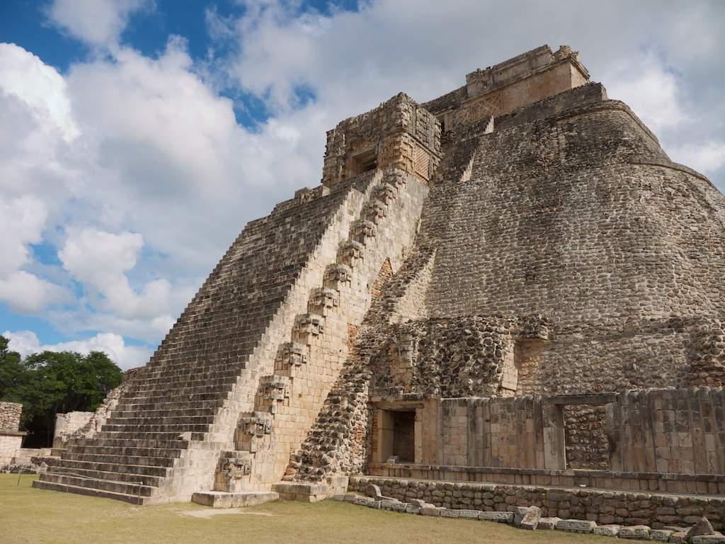 Pyramid of the Magician or Adivino , UXMAL
