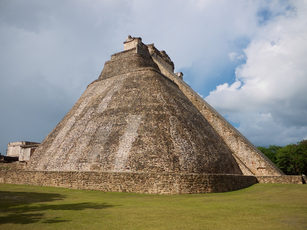Uxmal, the magician pyramid