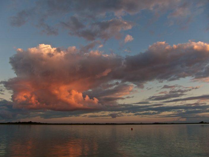 Sunrise on Laguna Bacalar