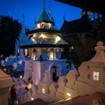 Dhara Dhevi Spa at Night