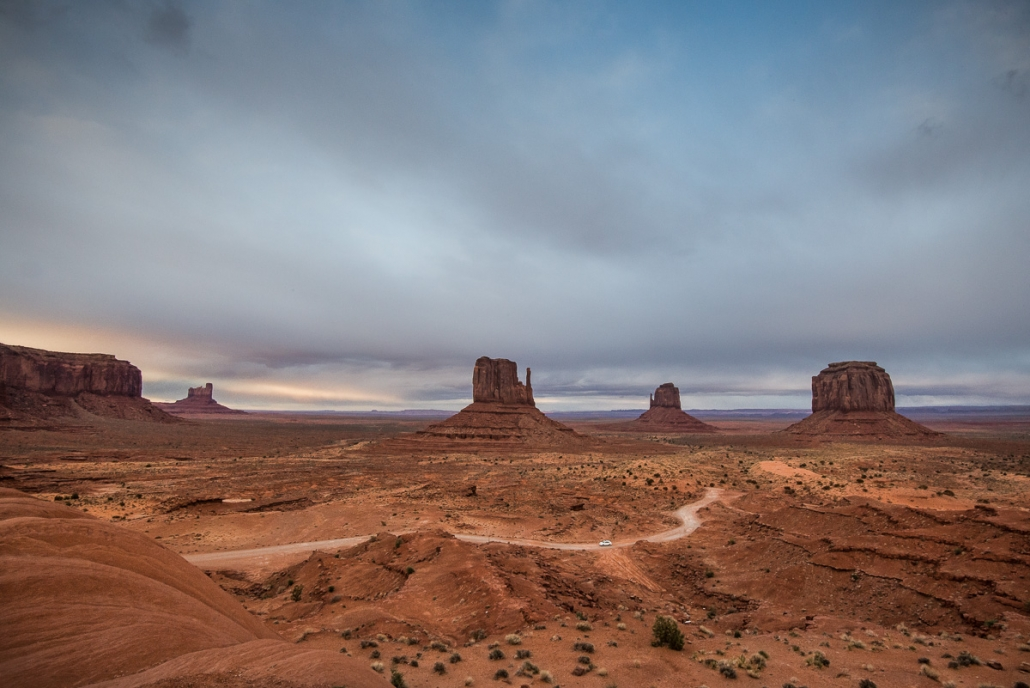 Monument Valley, Three Mittens