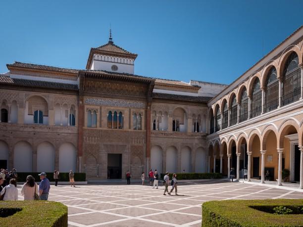 Alcazar, Patio de la Monteria, Sevilla
