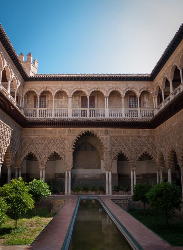 Alcazar, Patio De Las Doncellas, Sevilla