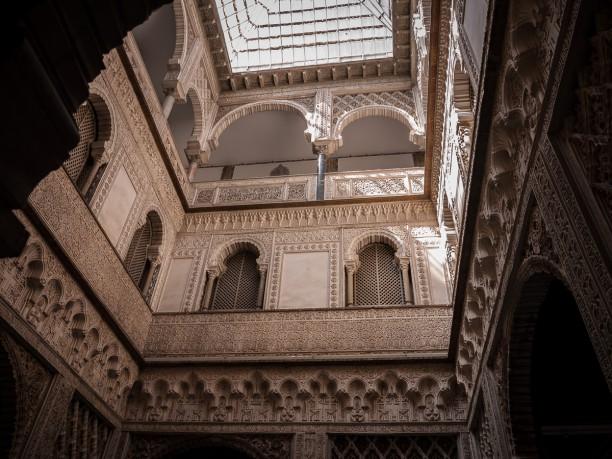 Alcazar, Patio de las Muñecas, Sevilla