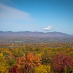 Minnewaska State Park, panoramic views, fall foliage