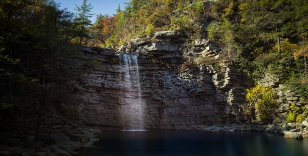 Minnewaska State Park, Awosting Waterfall