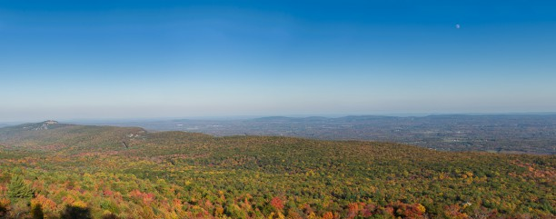 Minnewaska State Park, panoramic views of The Gunks