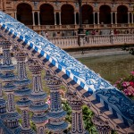 Plaza De Espana, azulejos, Sevilla
