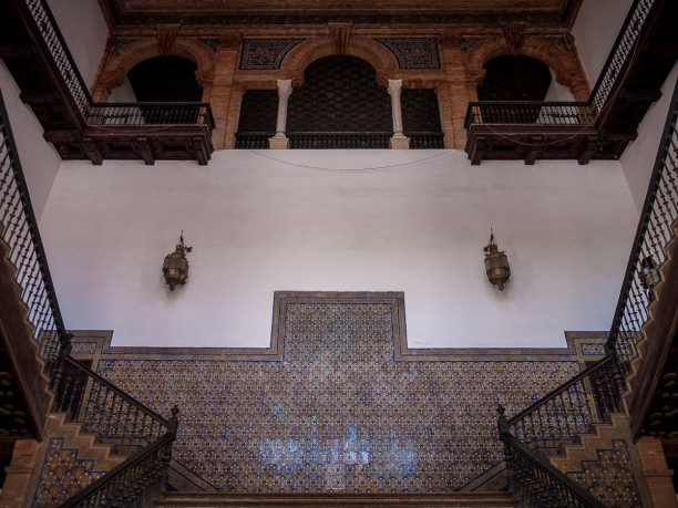 Plaza De Espana, Sevilla, interior detail