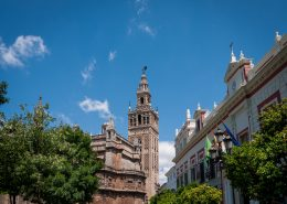 Sevilla, Giralda and Cathedral