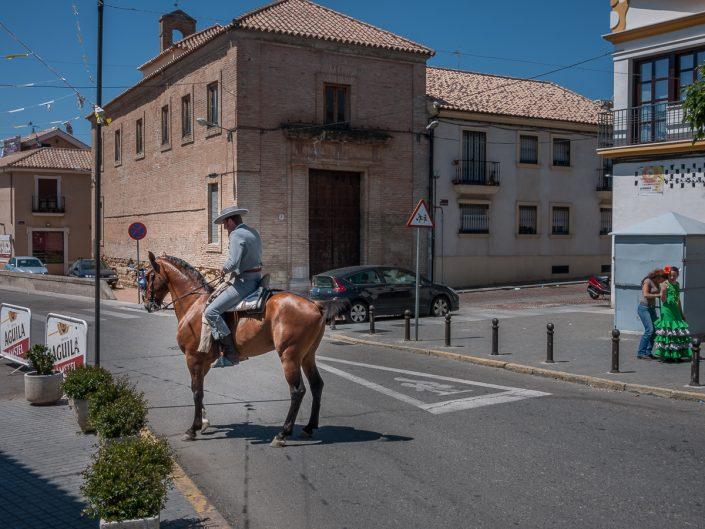 Feria De Cordoba, horseman