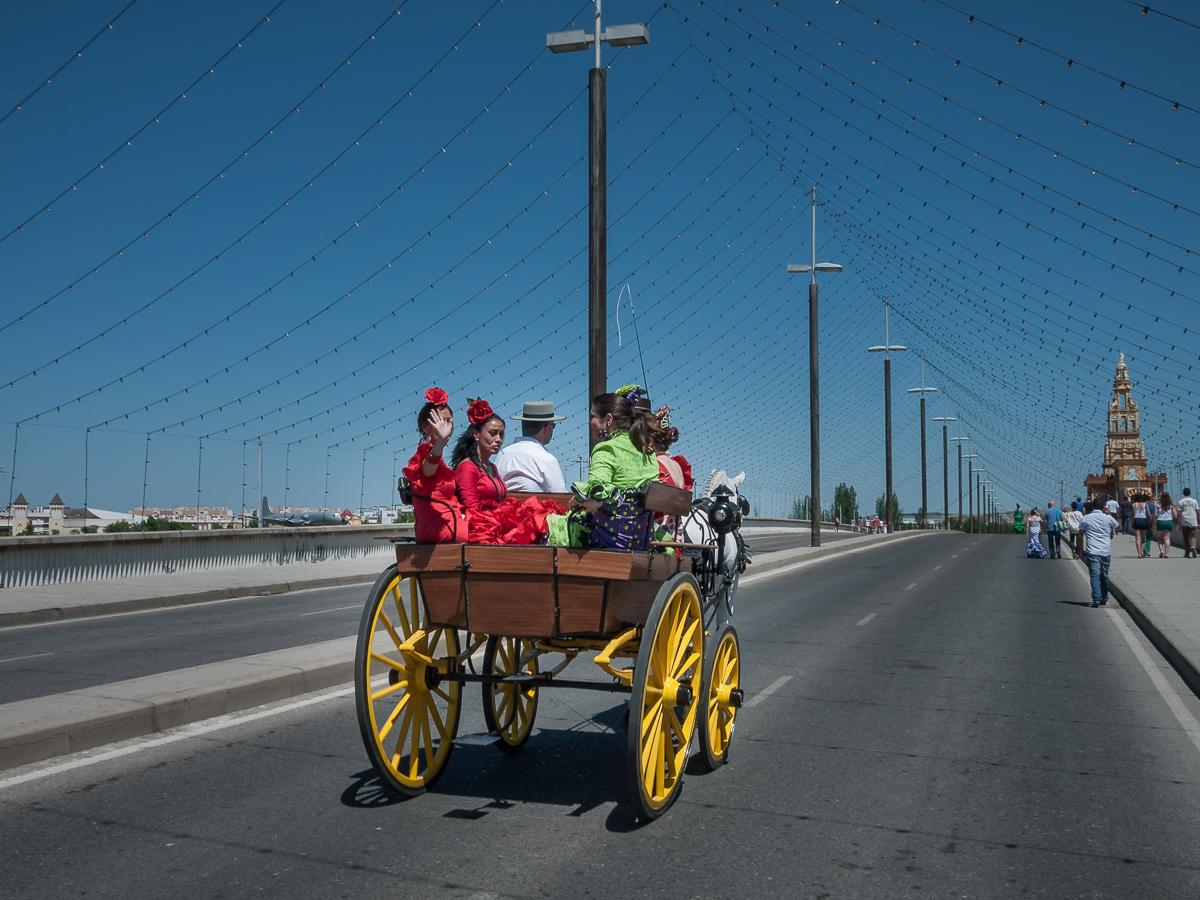 On the Way to the Feria de Cordoba