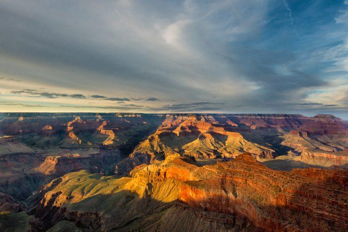 The Grand Canyon, southern rim, Arizona