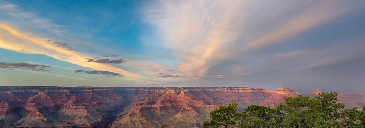 The Grand Canyon, southern rim, Arizona