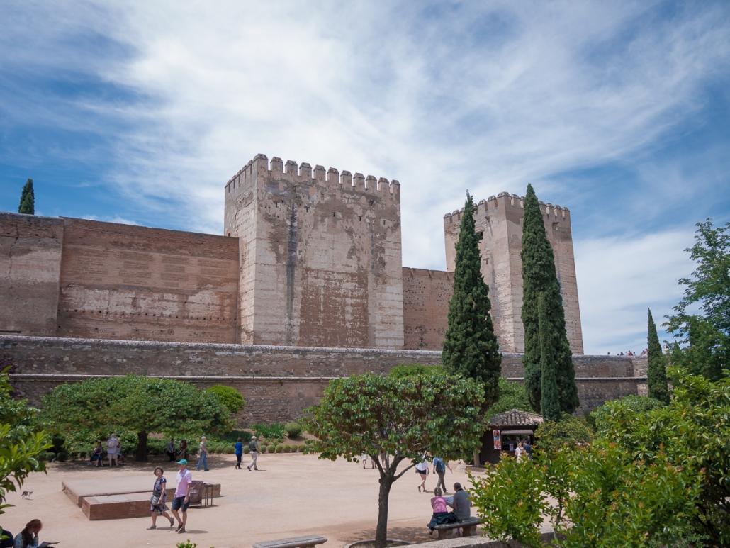 The Alhambra complex, Granada  | TOP TRAVEL SPOT
