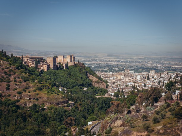 The Alhambra from Sacromonte