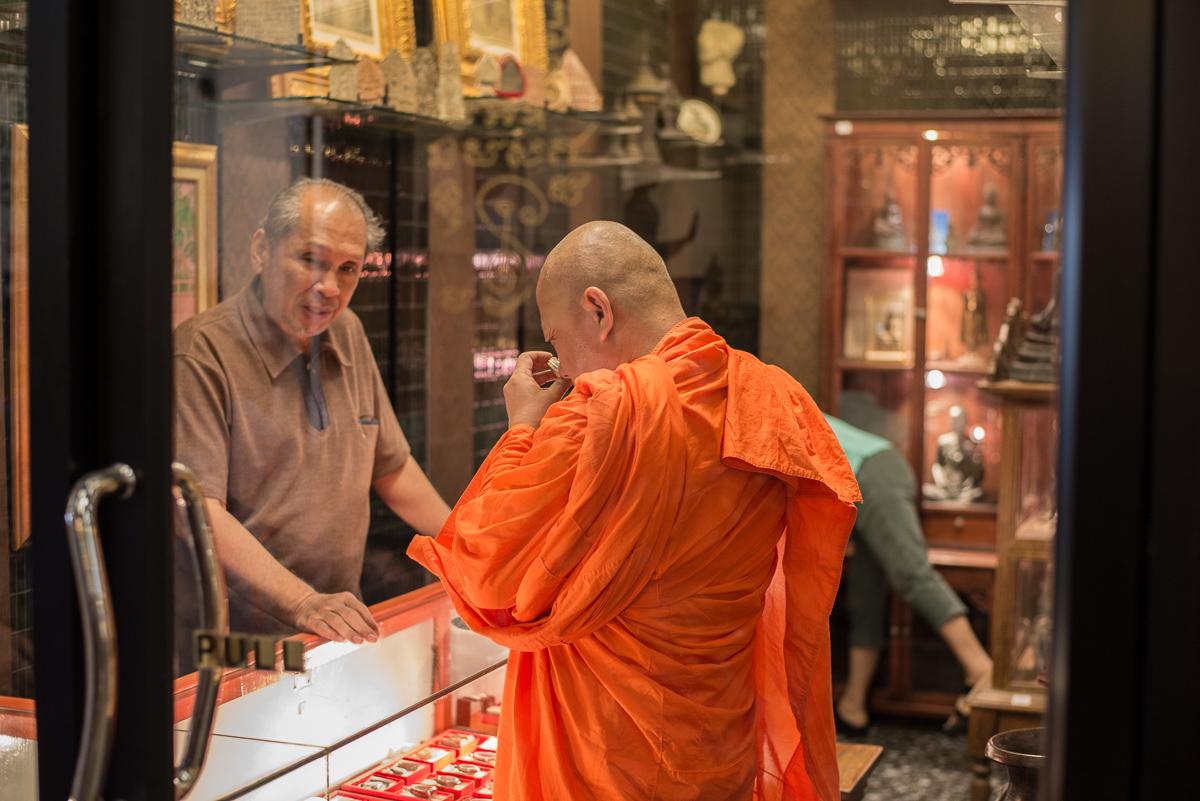 Chatuchak Buddhist Monk-Bangkok