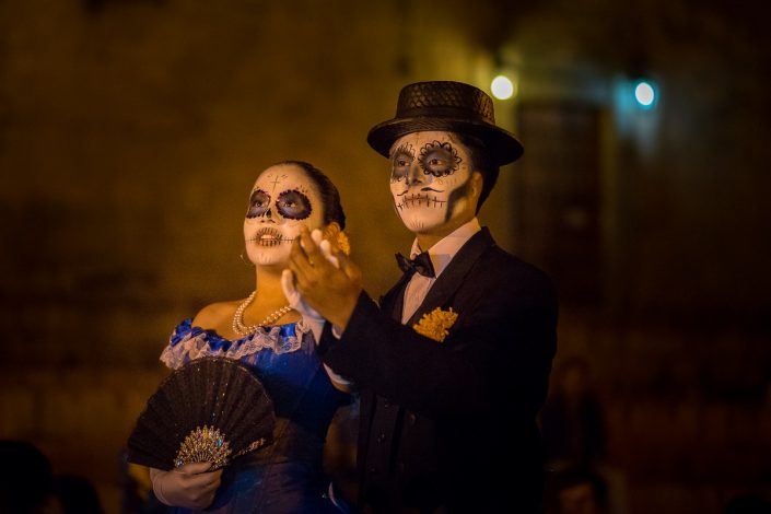 Couple, Dias de muertos, Oaxaca