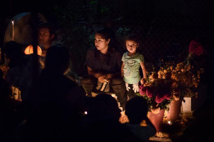 Diad de muertos, Xoxocotlan cemetery