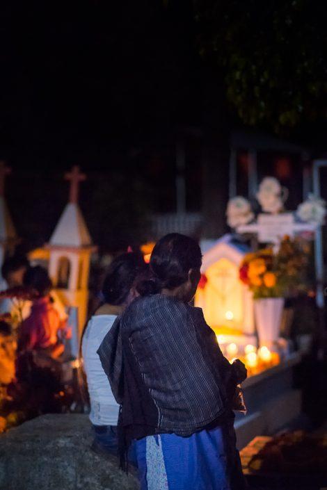Dia de Muertos, Xoxocotlan cemetery