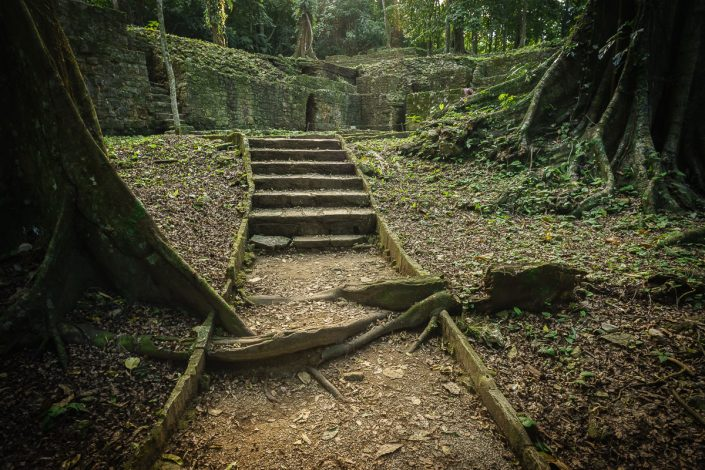The ruins of Palenque, Chiapas, Mexico